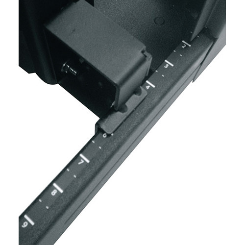 "Middle Atlantic 10-32 Tapped Rack Rail for SNE Series 24"" 42 RU (1-Pair)"