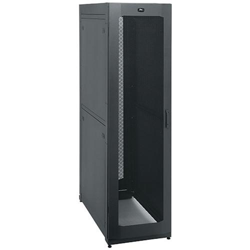 "Middle Atlantic SNE 42-Rack 27x36"" Hybrid Security Network Enclosure w/Rear Active Ventilation"