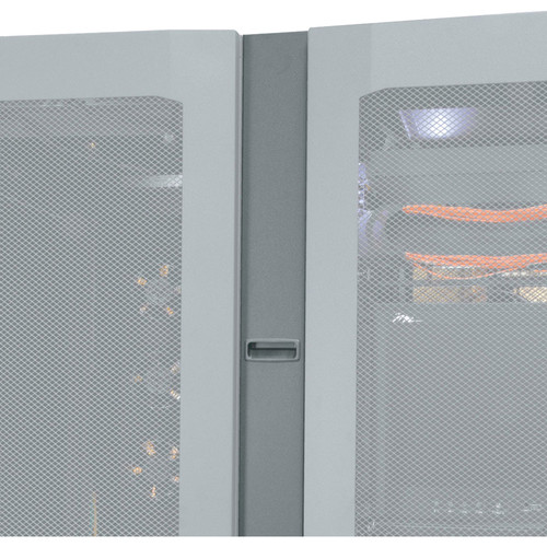"""Middle Atlantic Cable Chase End for SNE Series Racks (45-RU, 12""""-Wide, 42""""-Deep, Black)"""