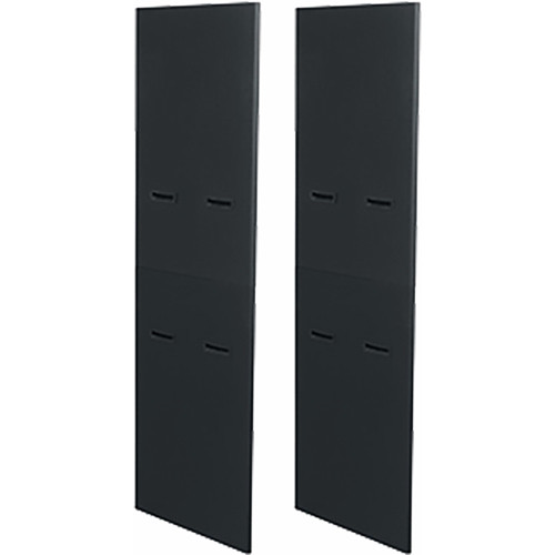 """Middle Atlantic Side Panels for 40-Space 36"""" Rack (Pair) (Black)"""