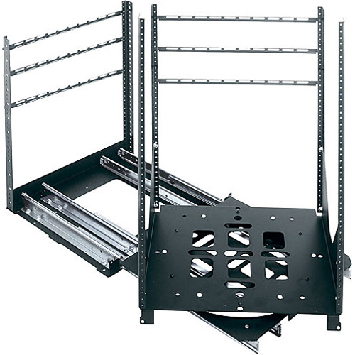 Middle Atlantic 4 Slide-Out SRSR Rotating Rail System,10 Space