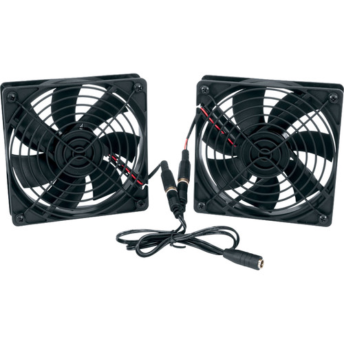 Middle Atlantic Thermostatically Controlled 80mm DC Fan Kit (2-Pack)