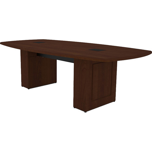 Middle Atlantic Klasik Style T5 Conference Table (8', Scarlett Cherry Veneer with Premium Edge)