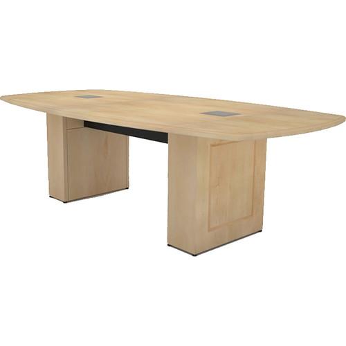 Middle Atlantic Klasik Style T5 Conference Table (8', Sandy Maple Veneer with Premium Edge)