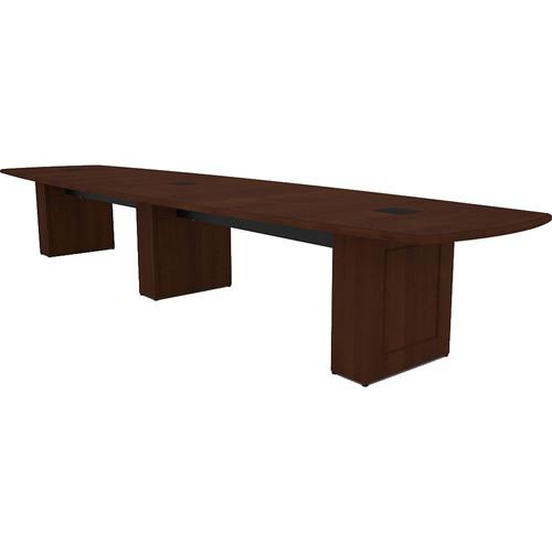 Middle Atlantic Klasik Style T5 Conference Table (16', Scarlett Cherry Veneer with Premium Edge)