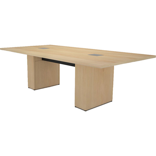 Middle Atlantic T5 Conference Table, Sota Style 8' with Self Edge (Sandy Maple Veneer)