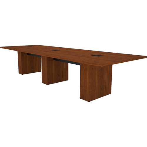Middle Atlantic T5 Conference Table, Sota Style 12' with Self Edge (Glamour Cherry HPL)