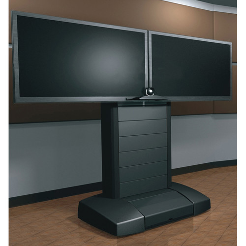 """Middle Atlantic VTC Video Cart for 42-55"""" Dual Displays"""