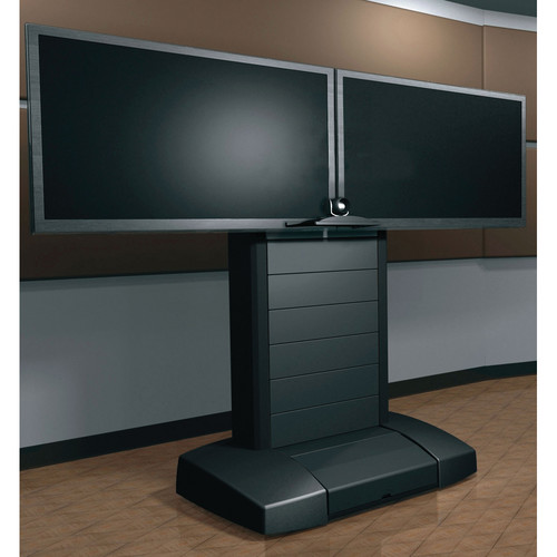 "Middle Atlantic VTC Video Cart for 56-70"" Dual Displays"