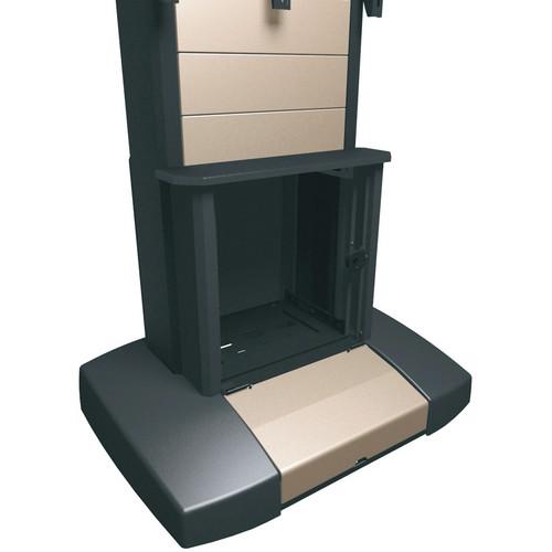 Middle Atlantic VTC Series 12 Rackspace Add-On Rack with Glass Door