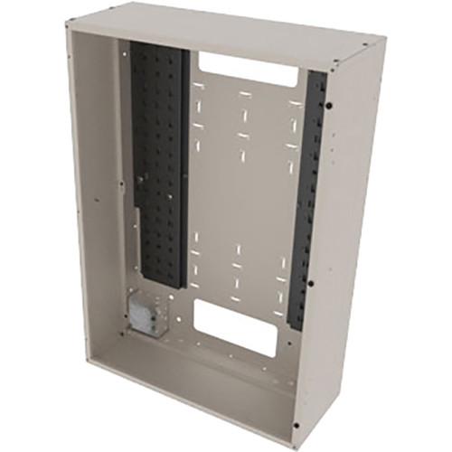 """Middle Atlantic Back Panel for VWM Series Wall Cabinets (36"""" Height, 10"""" Depth, Putty Finish)"""