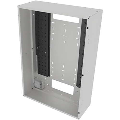 "Middle Atlantic Back Panel for VWM Series Wall Cabinets (36"" Height, 10"" Depth, White Finish)"