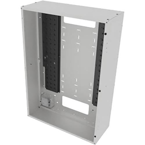"Middle Atlantic Back Panel for VWM Series Wall Cabinets (36"" Height, 16"" Depth, White Finish)"