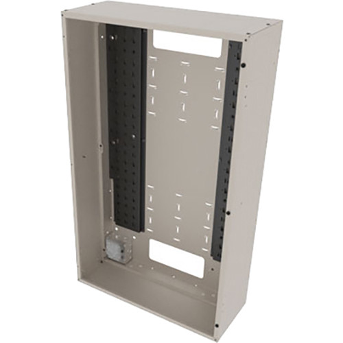 """Middle Atlantic Back Panel for VWM Series Wall Cabinets (42"""" Height, 10"""" Depth, Putty Finish)"""