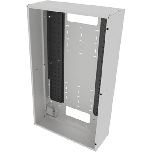 "Middle Atlantic Back Panel for VWM Series Wall Cabinets (42"" Height, 10"" Depth, White Finish)"
