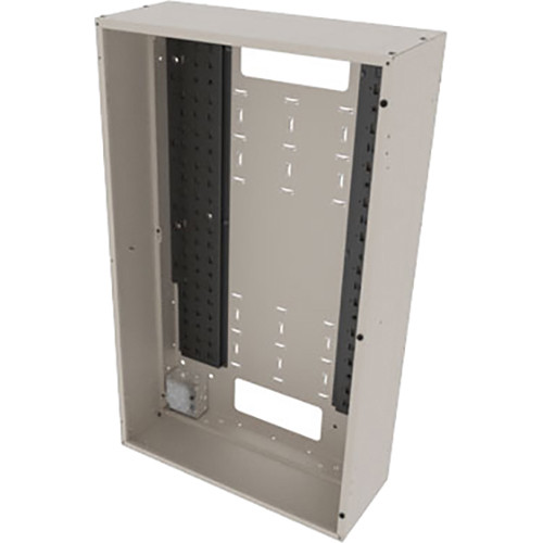 """Middle Atlantic Back Panel for VWM Series Wall Cabinets (42"""" Height, 16"""" Depth, Putty Finish)"""