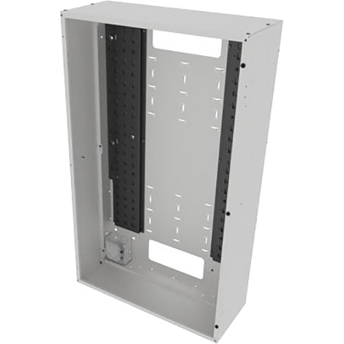 "Middle Atlantic Back Panel for VWM Series Wall Cabinets (42"" Height, 16"" Depth, White Finish)"