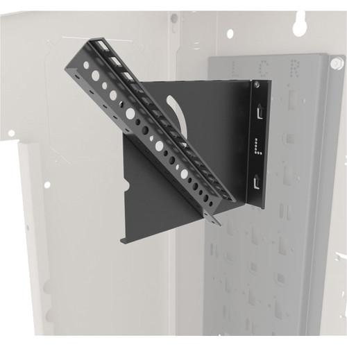 Middle Atlantic VWM Series 4-Space Pivoting Rail and Mounting Bracket Kit