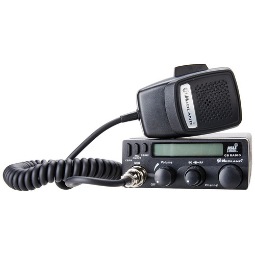 Midland 1001LWX 40-Channel CB Radio with Weather Scan