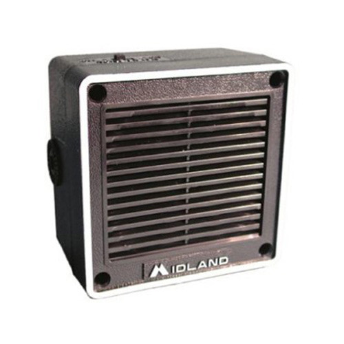 Midland External 6W Speaker with Swivel Base Bracket & 5' Cable for CB Radio