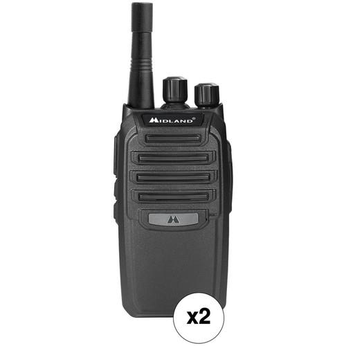 Midland BizTalk BR200 16-Channel Business Two-Way UHF Radio Kit (Pair)