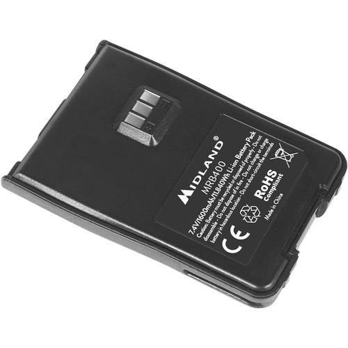 Midland BizTalk MRB400 1500mAh Battery for MB400 Radio