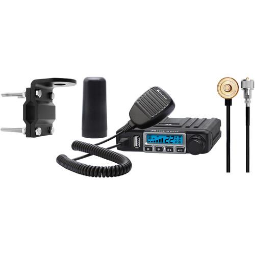 Midland MXT115VP3 MicroMobile 15-Channel GMRS Radio & 3 dB Antenna System Bundle