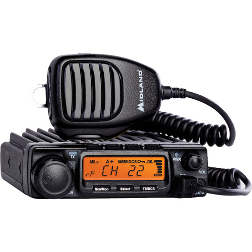 Midland MicroMobile MXT400 15-Channel Two-Way GMRS Radio