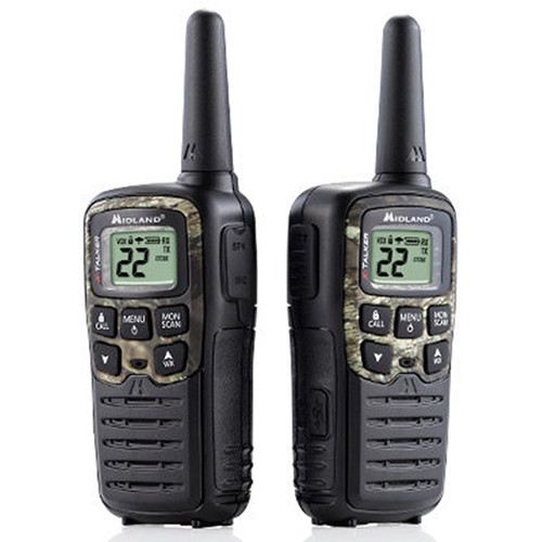 Midland X-Talker T55VP3 22-Channel Two-Way UHF Radio (2-Pack, Mossy Oak Camo)