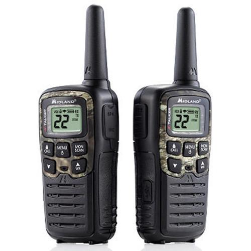 Midland X-Talker T55VP3 22-Channel Two-Way UHF Radio (2-Pack, Mossy Oak Camo)