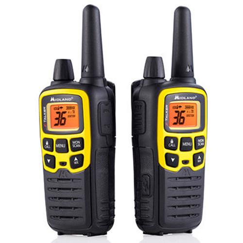 Midland X-Talker T61VP3 36-Channel Two-Way UHF Radio (Yellow, Pair)