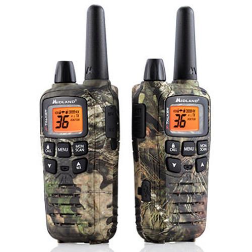 Midland X-Talker T65VP3 36-Channel Two-Way UHF Radio (Mossy Oak Camo, Pair)