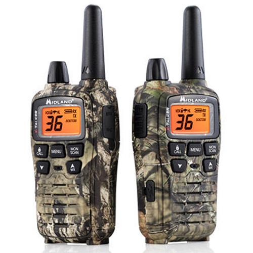 Midland X-Talker T75VP3 36-Channel Two-Way UHF Radio (Mossy Oak Camo, Pair)