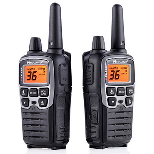 Midland X-Talker T77VP5 36-Channel Two-Way UHF Radio Extreme Dual Pack
