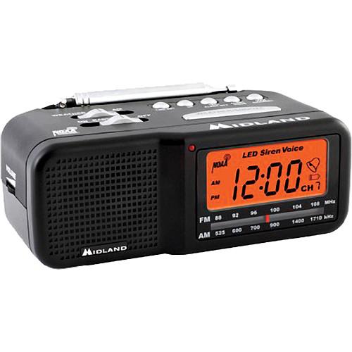 Midland WR11 Alarm Clock Weather Alert Radio