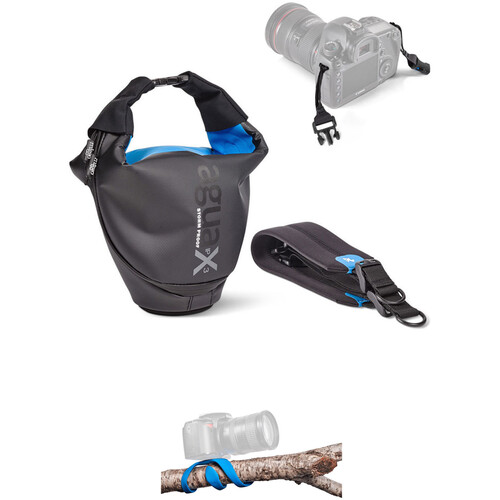 miggo Agua 45 Stormproof Holster with Splat SLR Flexible Mini Tripod Kit