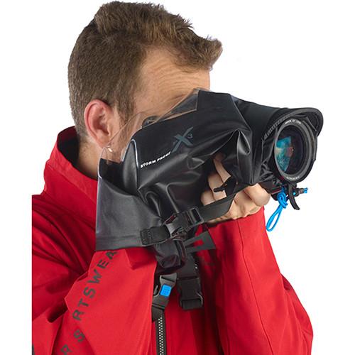 miggo Agua Stormproof Rain Cover & Backpack Kit with Speed Strap for Medium DSLR (Black)