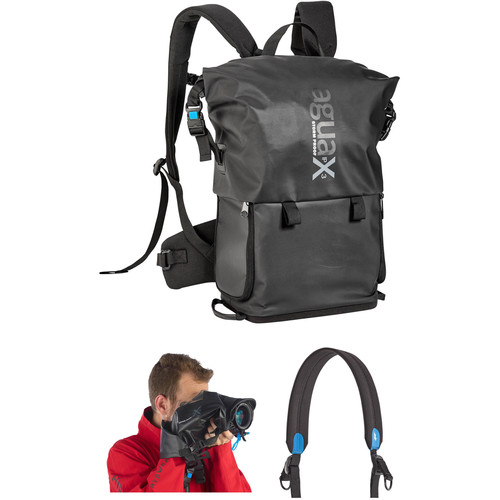 miggo Agua Stormproof Rain Cover & Backpack Kit with Speed Strap for Pro DSLR (Black)
