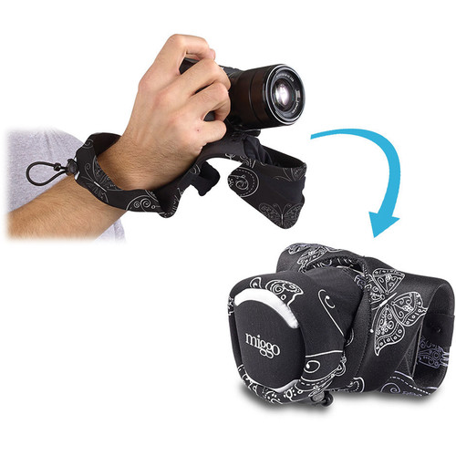 miggo Grip and Wrap for Mirrorless and Compact System Cameras (Royal Wings)