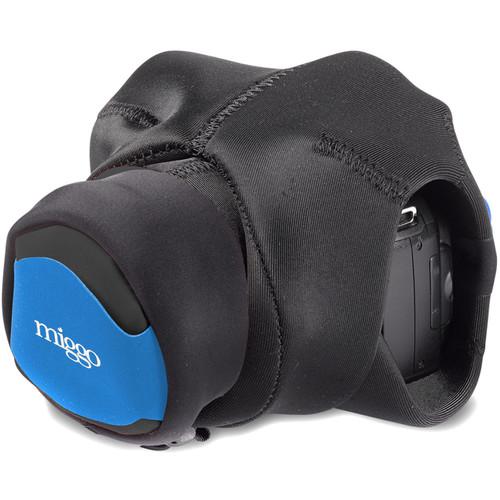 miggo Grip&Wrap for Bridge, Superzoom, Large Mirrorless Camera (Blue-Black)