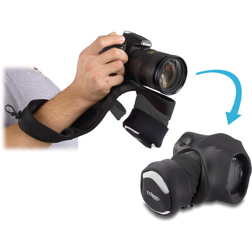 miggo Grip and Wrap for DSLR Cameras (Black)
