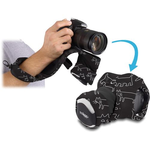 miggo Grip and Wrap for DSLR Cameras (Space Zoo)