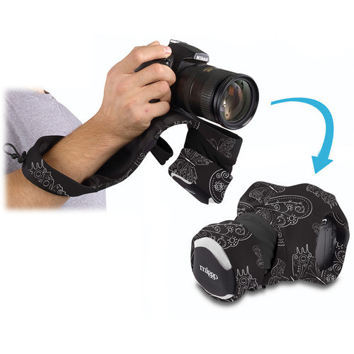 miggo Grip and Wrap for DSLR Cameras (Royal Wings)