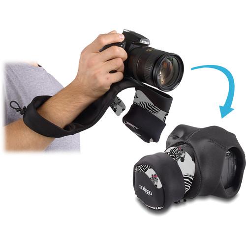 miggo Grip and Wrap for DSLR Cameras (Zebra Nation)
