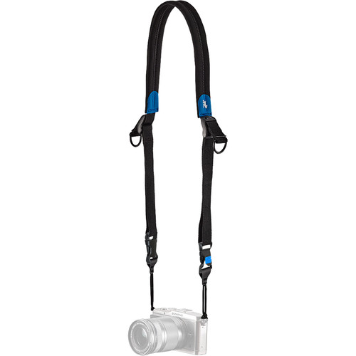"miggo Speed Strap with Quick-Release for Camera (59"", Black/Blue)"