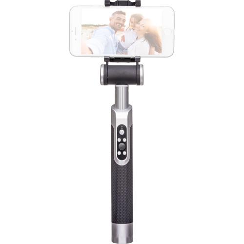 miggo Pictar Smart Selfie Stick (Silver Black)
