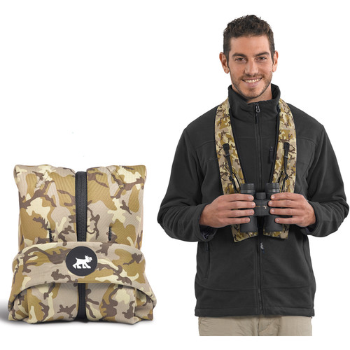 miggo Strap&Wrap Combination Case-Strap for 10x42 Binoculars (Camo)