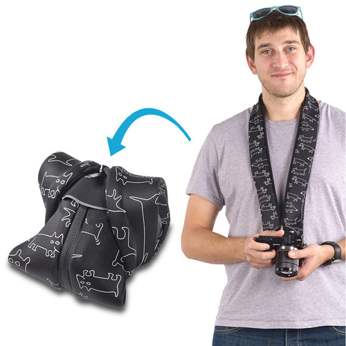 miggo Strap and Wrap for Mirrorless and Compact System Cameras (Space Zoo)