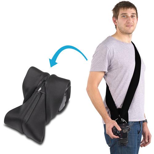 miggo Strap and Wrap for DSLR Cameras (Black)