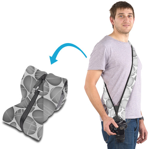 miggo Strap and Wrap for DSLR Cameras (Pebble Road)